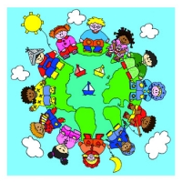 kaart wereldbol