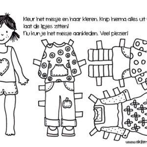 aankleedmeisje klein