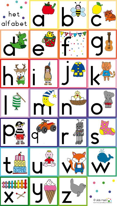alfabetposter nl